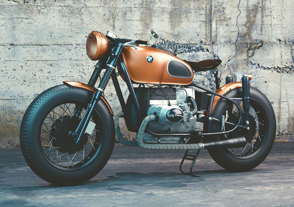 Motorrad Bauer